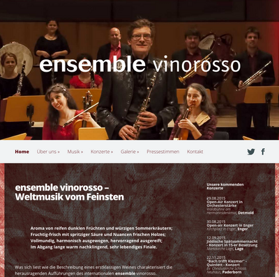 Ensemble Vinorosso